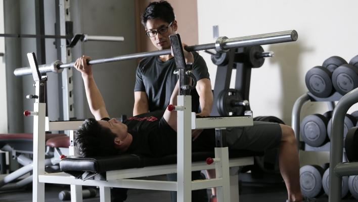 エドワード加藤のトレーニングの写真